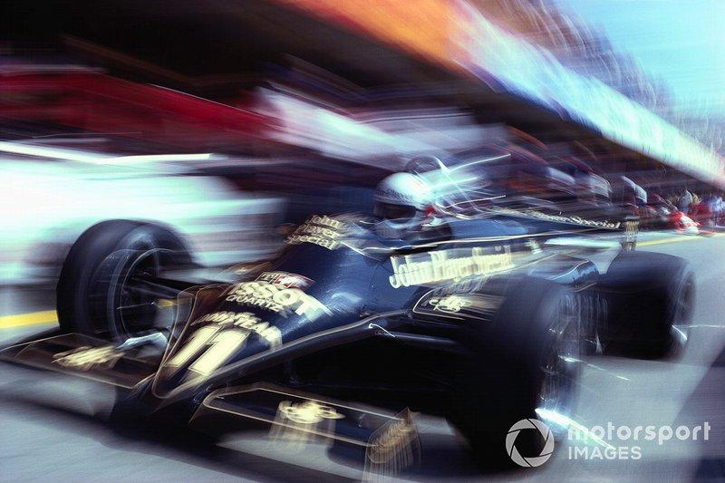 Elio de Angelis, Lotus 87 Ford