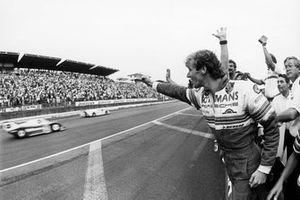 Race winners Derek Bell, Stefan Bellof, Rothmans Porsche 956