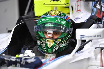 Felipe Massa, Williams FW38 y el casco de edición especial