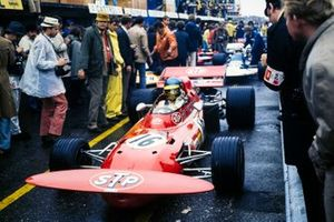 Ronnie Peterson, March 711 Ford, GP d'Olanda del 1971