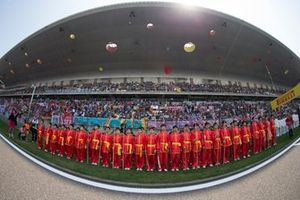 Kungfu Kids ready for opening ceremony