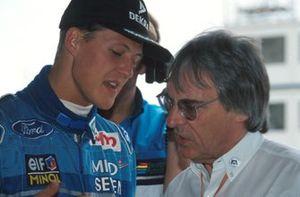 Michael Schumacher, Benetton, Bernie Ecclestone