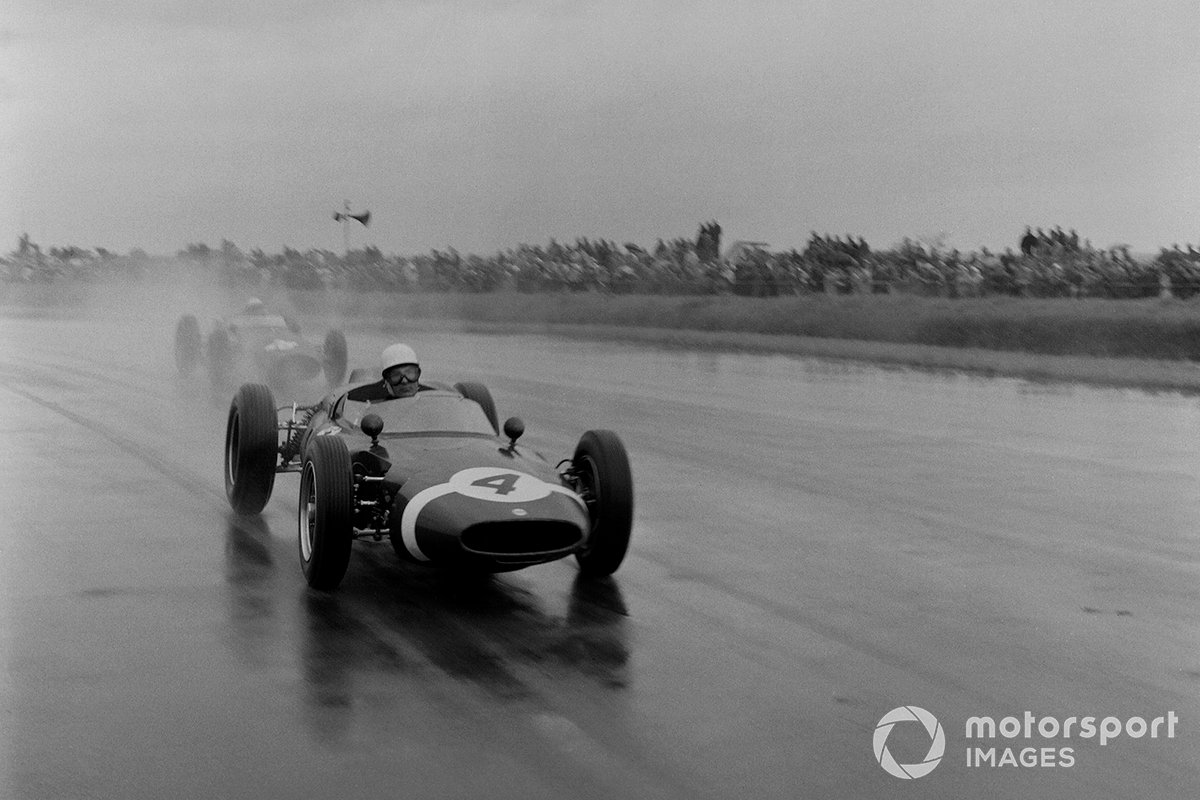 4. BRDC International Trophy 1961 (Cooper T53P) - 1º