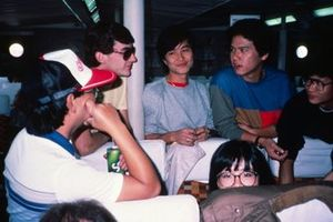 Ayrton Senna, Theodore Racing en el Ferry de Hong Kong