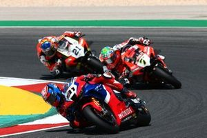 Leon Haslam, Team HRC, Chaz Davies, ARUBA.IT Racing Ducati
