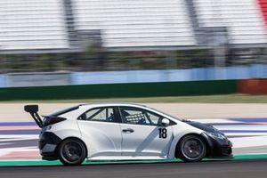 Federico Paolino, BD Racing, Honda Civic TCR