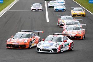 Jordan Love, Fach Auto Tech devant Max van Splunteren, Team GP Elite