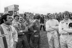 Carlos Pace, Brabham BT44B, Jody Scheckter, Tyrrell 007, Clay Regazzoni, Ferrari 312T, Vittorio Brambilla, March 751 Ford, Patrick Depailler, Tyrrell 007, Niki Lauda, Ferrari 312T, Clay Regazzoni, Ferrari 312T, Ronnie Peterson, Lotus 72E