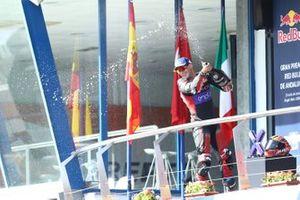 Podium: third place Mattia Casadei, Ongetta SIC58 Squadracorse