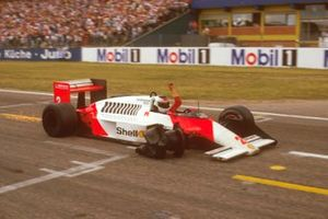 2. Stefan Johansson, McLaren MP4/3