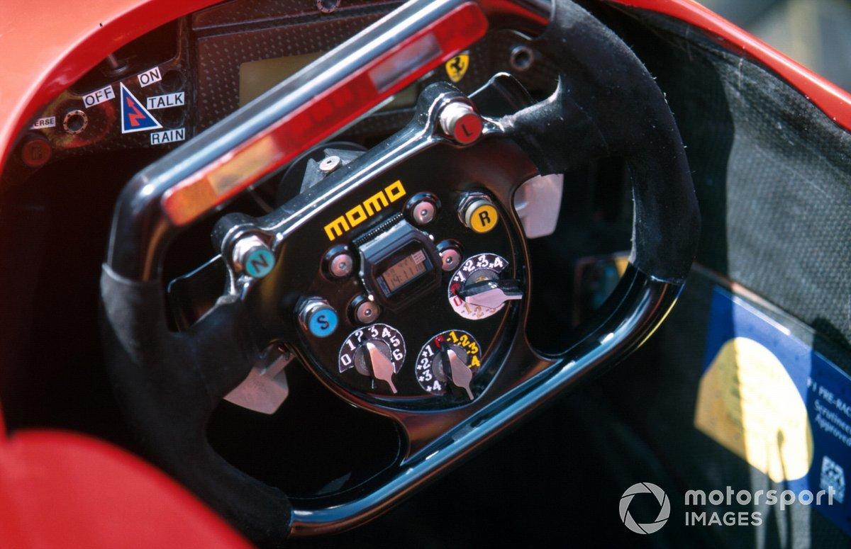 Руль Ferrari F310 на Гран При Европы 1996 года