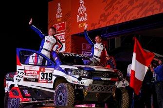 #319 Toyota: Ronan Chabot, Gilles Pillot