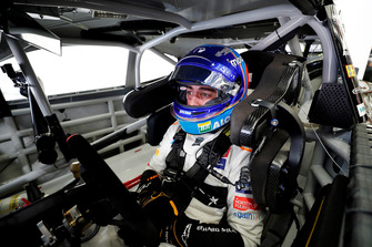 Fernando Alonso in the NASCAR