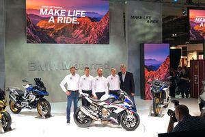 Lancement du BMW Motorrad Team