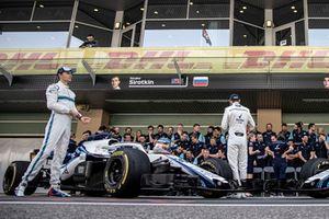 Sergey Sirotkin, Williams Racing at the Williams Team Photo