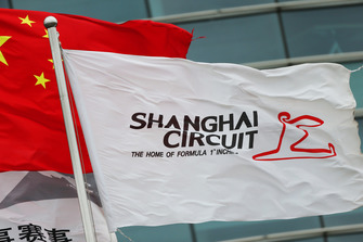 Shanghai Circuit flags