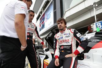 #8 Toyota Gazoo Racing Toyota TS050: Sébastien Buemi, Fernando Alonso