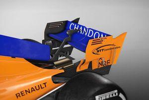 A McLaren hátsó szárnyai