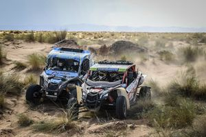 #207 South Racing CAN AM Maverick X4: Miguel Jordao, Lourival Roldan, #209 Benimoto Racing Team Maverick X3RS: Luis Correa Lage Portela Morais, David Ribeiro Teles Megre