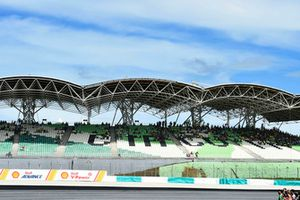 Tribüne am Sepang International Circuit