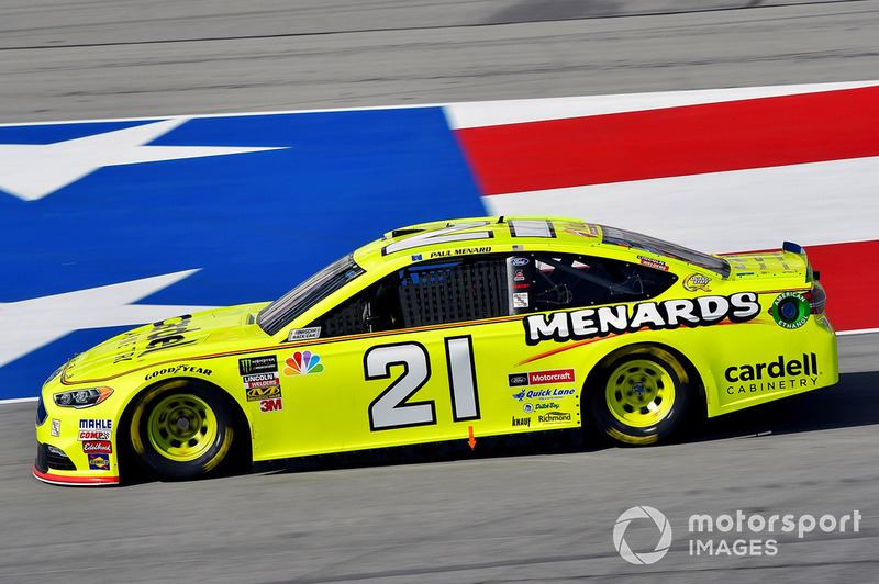 11. Paul Menard, Wood Brothers Racing, Ford Fusion Menards / Cardell