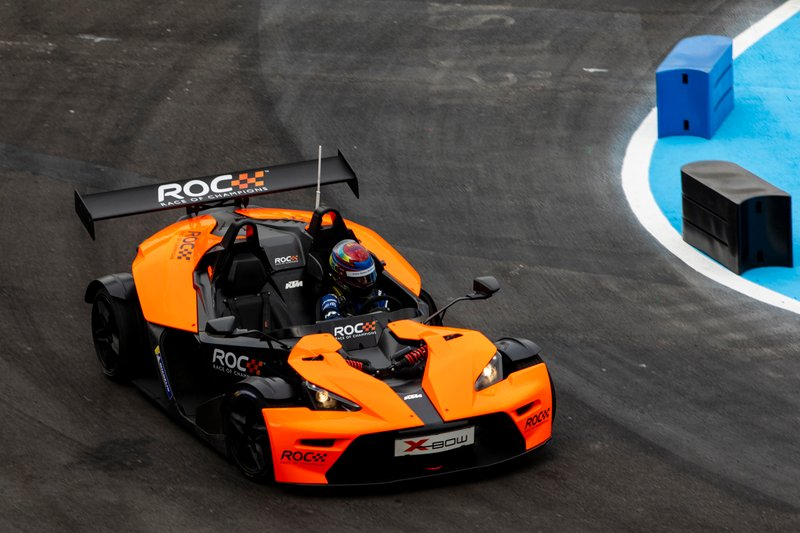 James Baldwin pilote la KTM X-Bow Comp R