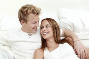 Kimi Räikkönen, McLaren, mit Freundin Jenni Dahlmann
