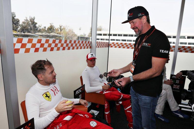 Sebastian Vettel, Fredrik Johnsson