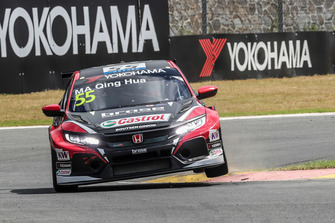 Ma Qing Hua, Boutsen Ginion Racing Honda Civic Type R TCR