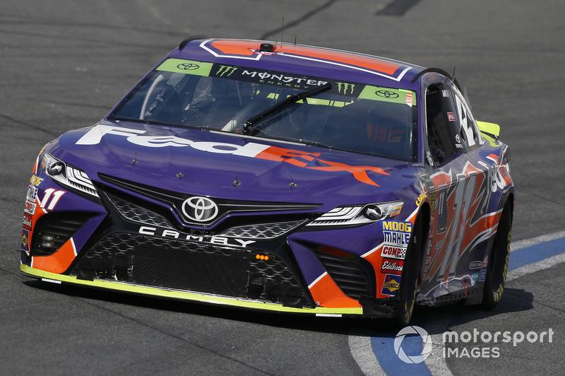 27. Denny Hamlin, Joe Gibbs Racing, Toyota Camry FedEx Freight