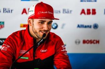 Daniel Abt, Audi Sport ABT Schaeffler, en conférence de presse