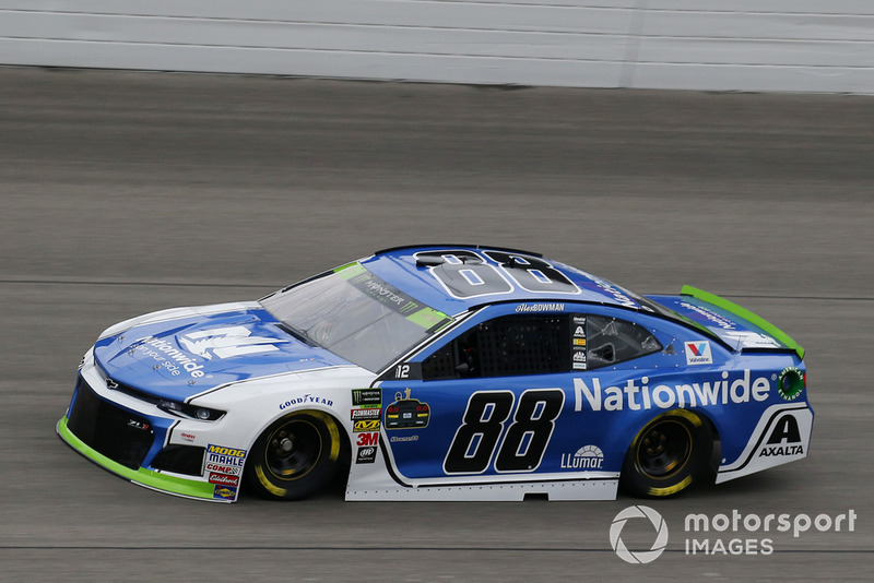 10. Alex Bowman, Hendrick Motorsports, Chevrolet Camaro Nationwide