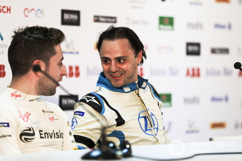 Robin Frijns, Envision Virgin Racing, Felipe Massa, Venturi Formula E, in the press conference