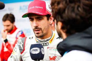 Lucas Di Grassi, Audi Sport ABT Schaeffler being interviewed by the media