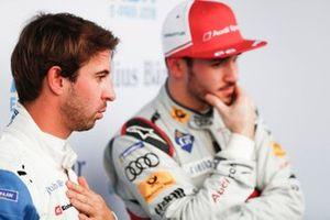 Антониу Феликс да Кошта, BMW I Andretti Motorsports и Даниэль Абт, Audi Sport ABT Schaeffler watch the qualifying