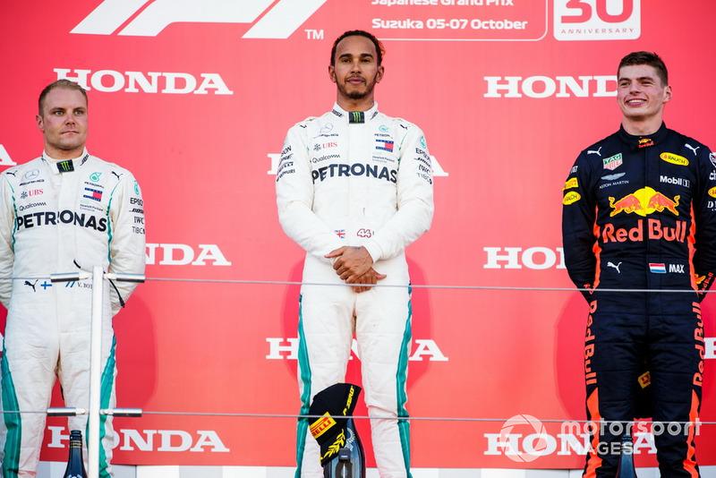 Lewis Hamilton werd in 2018 overtuigend wereldkampioen, maar hoe veel races stond hij niet op het podium?