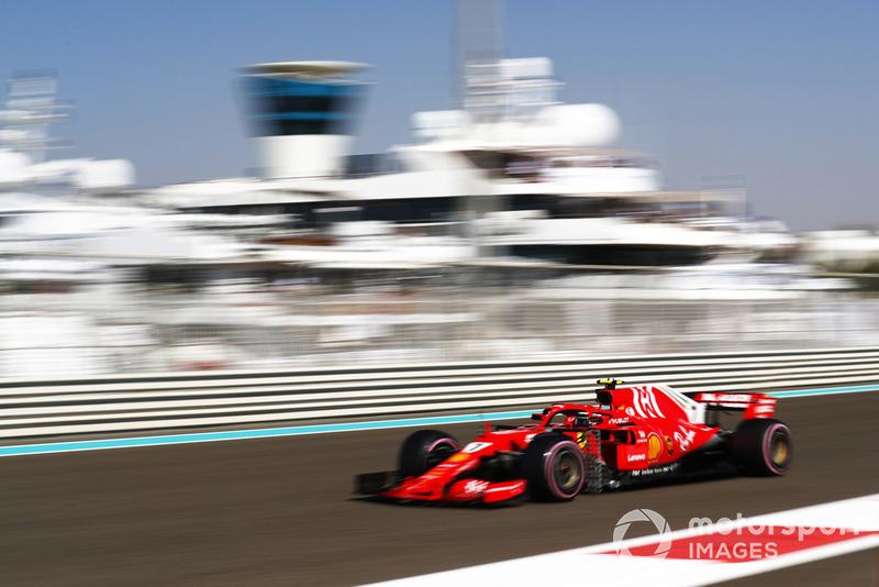 5. Kimi Räikkönen, Ferrari SF71H