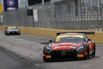 #888 Mercedes-AMG Team GruppeM Racing Mercedes - AMG GT3: Maro Engel