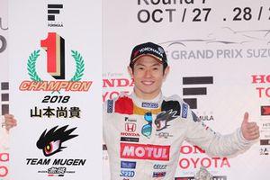 Le Champion Naoki Yamamoto (Team Mugen)