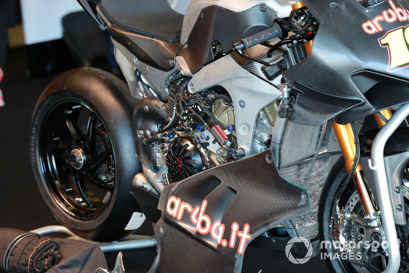 Bike of Alvaro Bautista, Aruba.it Racing-Ducati SBK Team