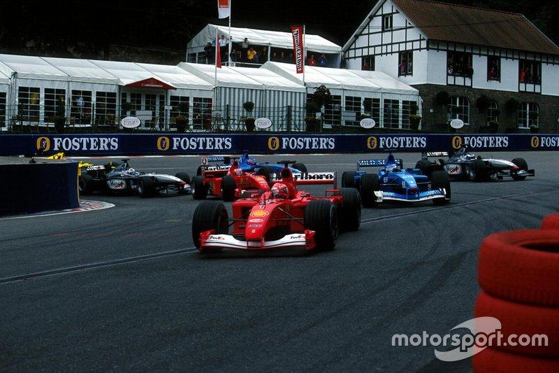 GP de Bélgica 2001