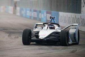Edoardo Mortara, Venturi Formula E, Venturi VFE05 con daños al frente