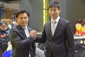 #18 UPGARAGE NSX GT3のドライバーに決まった松浦孝亮と小林崇志