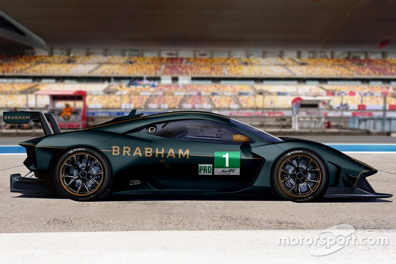 Rendering Brabham Automotive GTE