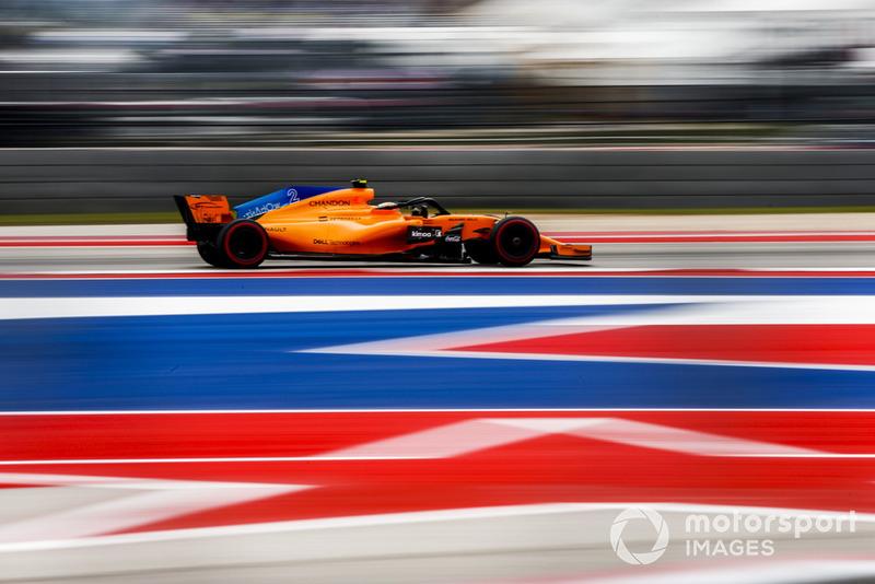 18, Stoffel Vandoorne, McLaren MCL33