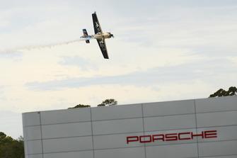 Red Bull air race pilot Matt Hall