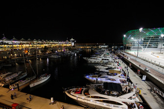 Yas Marina Circuit in Abu Dhabi