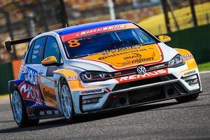 Luca Engstler, Theo Coicaud, Diego Moran, Liqui Moly Team Engstler, Volkswagen Golf GTI TCR