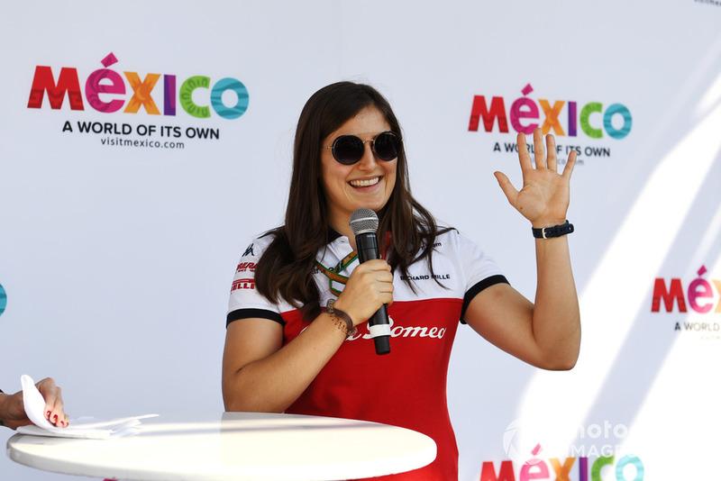 Tatiana Calderón, Sauber piloto de prueba