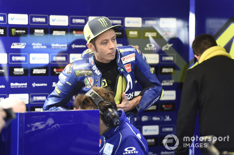 """Valentino Rossi: """"Penso que este é um bom resultado para Maverick, e também para toda a equipe e para a Yamaha, porque fazia tempo que não vencíamos. É certamente uma grande injeção de confiança, mas não acho que mude muito."""""""